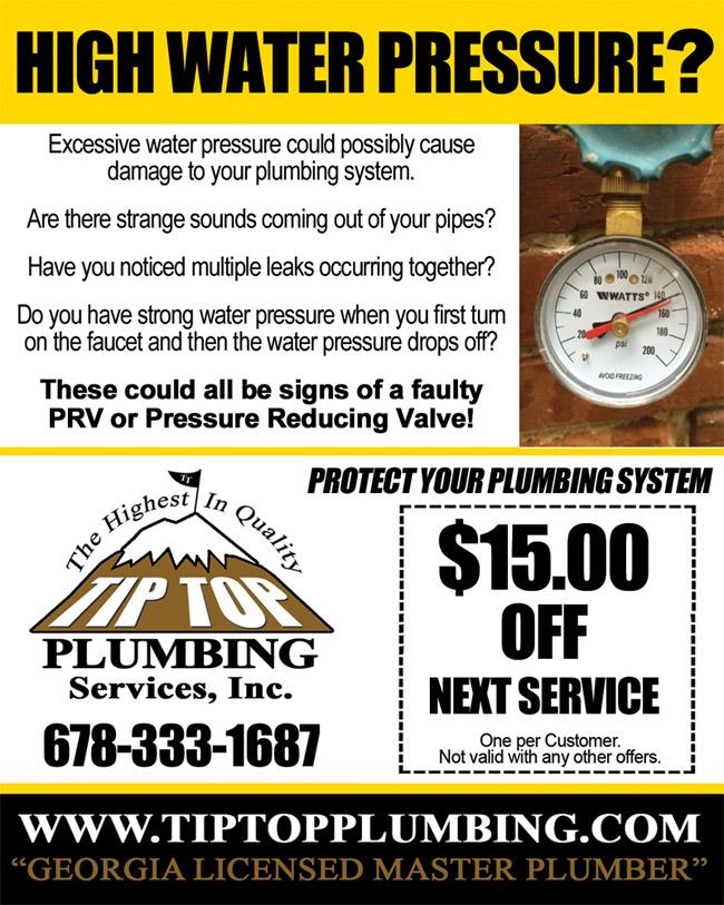 Plumbing Repair Coupons